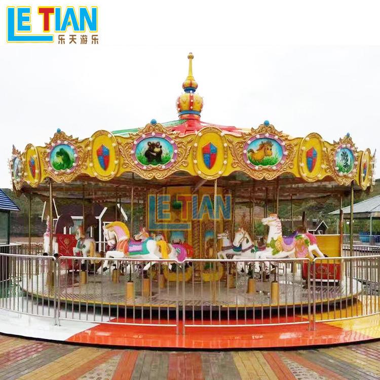 Carousel Horses ride for fairground equipment LT-7033A