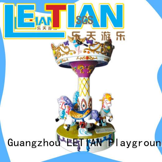 LETIAN reinforced amusement park rides for kids for kids carnival