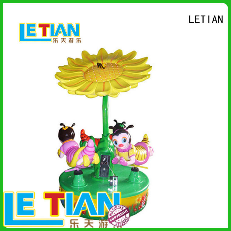 LETIAN lt7034a kids carousel customized fairground