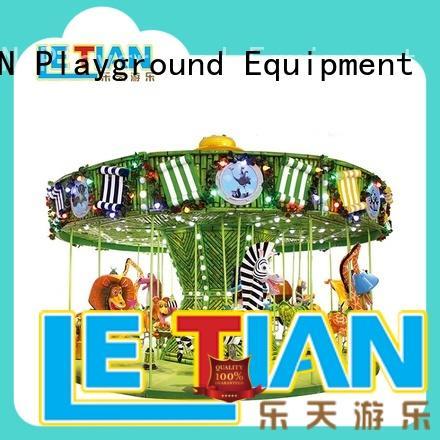 LETIAN double a children's carousel design carnival