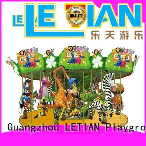 LETIAN lt7030a kids carousel design carnival