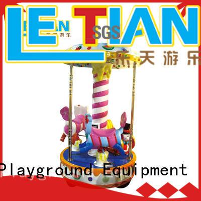 LETIAN sweet horse carousel ride factory carnival