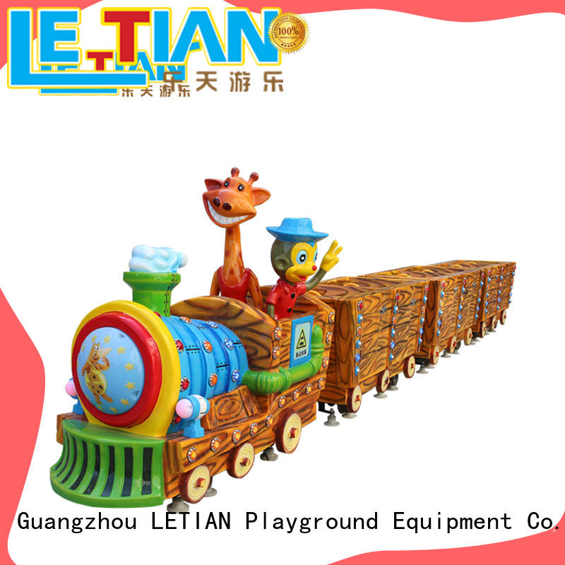 LETIAN small small ride on trains for sale park playground