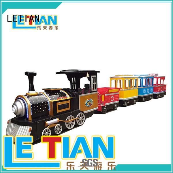 LETIAN electric theme park train manufacturers children's palace