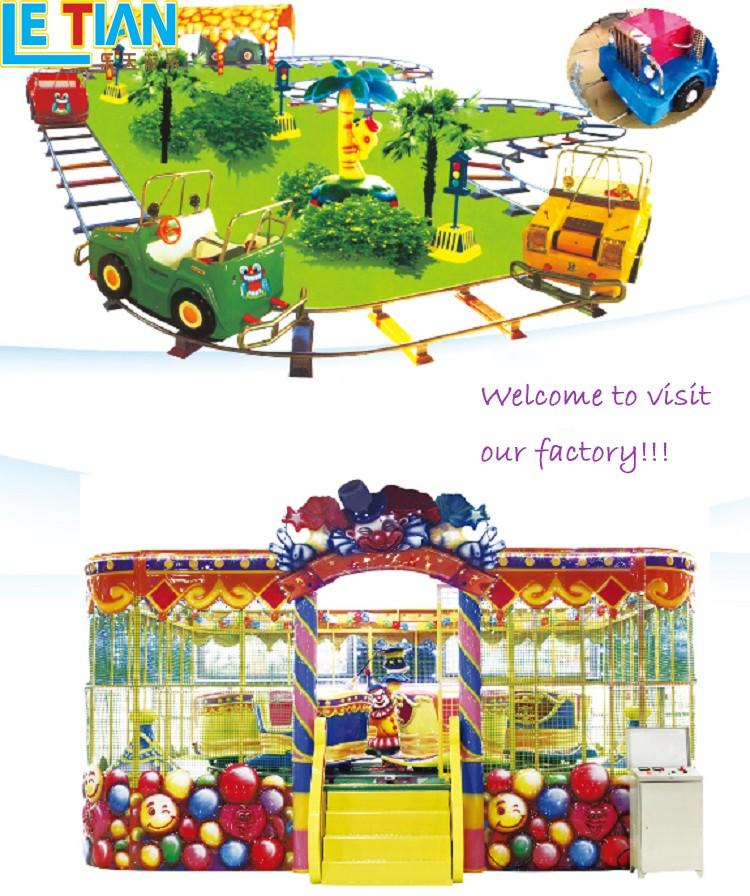 LETIAN electric theme park equipment for kids children's palace-3