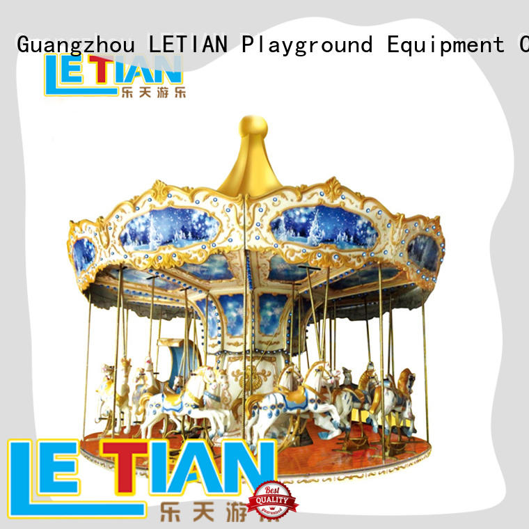 LETIAN Top carousel for kids supplier shopping centers