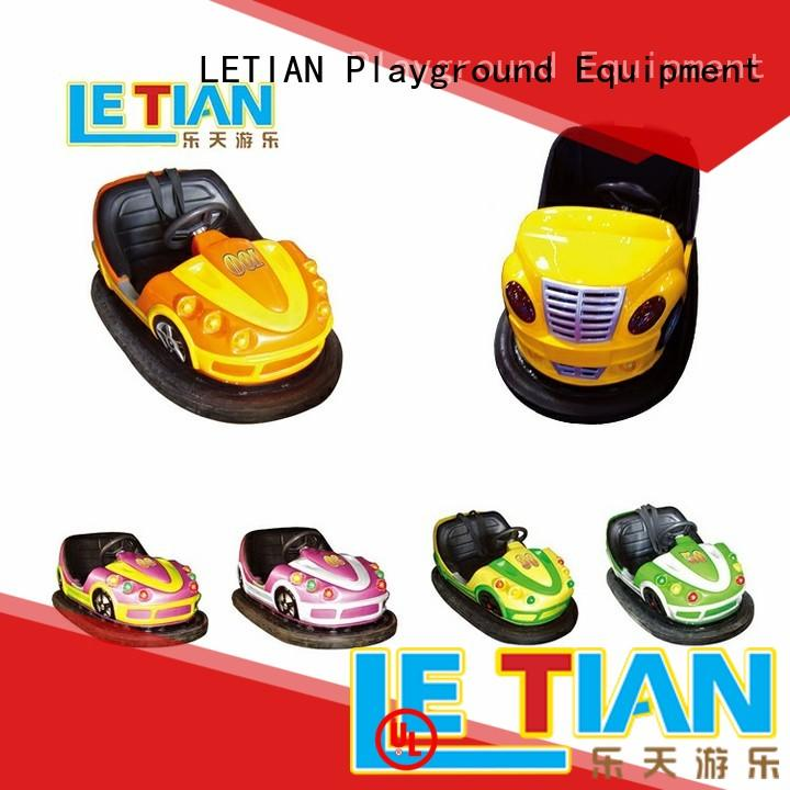 LETIAN kids bumper cars ride for kids entertainment