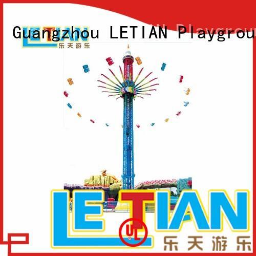 LETIAN kids carnival swings design amusement park