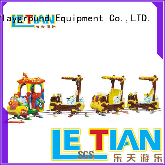 LETIAN Wholesale park train Supply mall