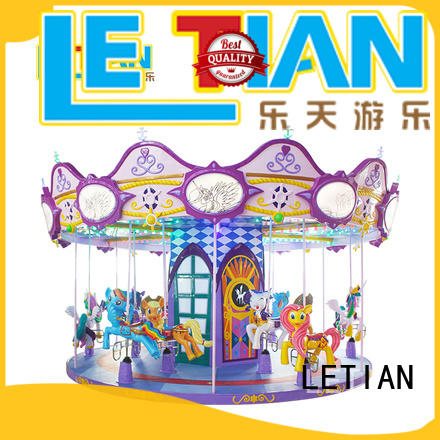 reinforced amusement rides in china carousel supplier shopping centers