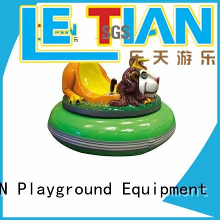 LETIAN Custom electric bumper cars for business park