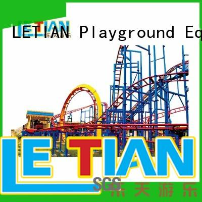 kids roller coaster amusement mall LETIAN