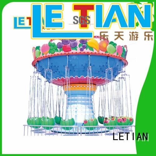 LETIAN 16 amusement park swing ride manufacturer zoo