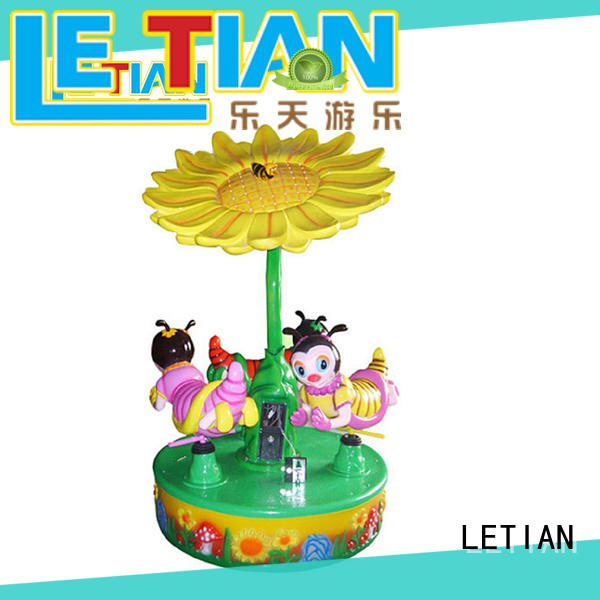 LETIAN Top carousel kids Supply shopping centers