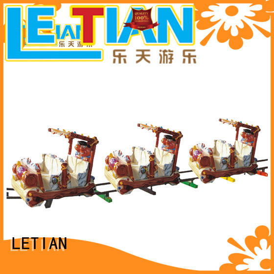 LETIAN Latest amusement park train for kids life squares