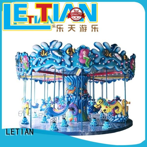 durable small carousel for sale mall customized theme park