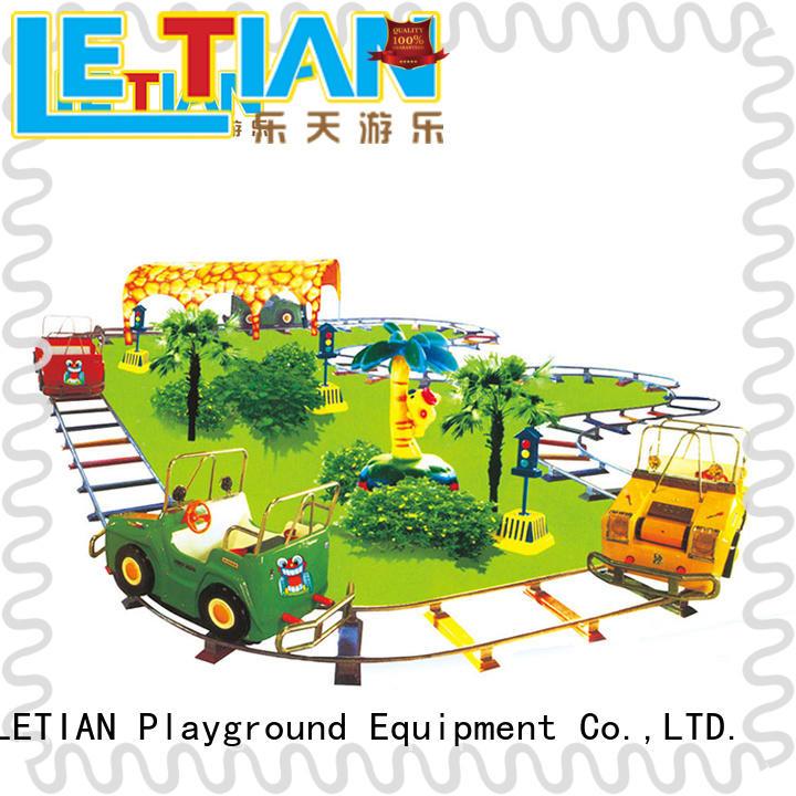 LETIAN New theme park trains for sale factory life squares