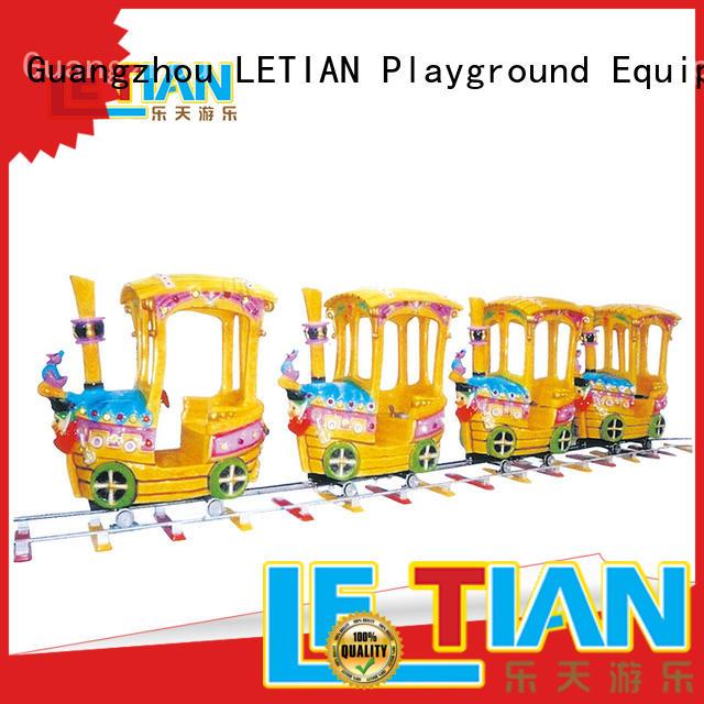 mechanical amusement park train for sale for kids children's palace LETIAN