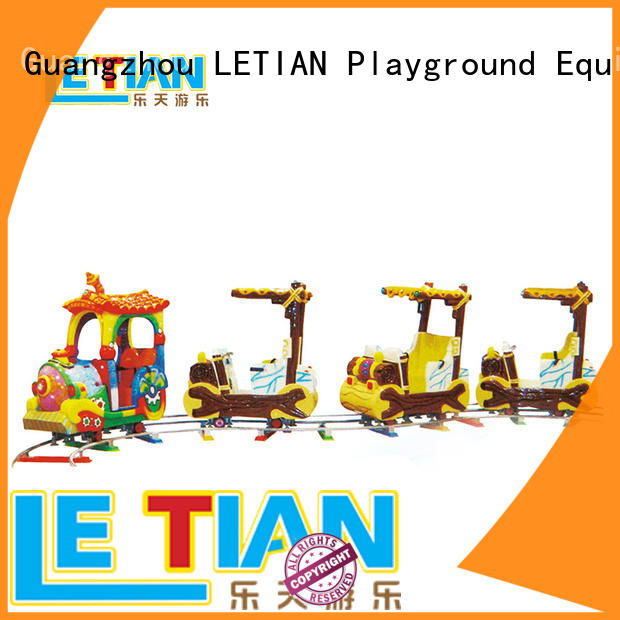 High-quality trackless train lt7077c for business park playground
