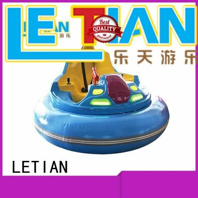 LETIAN carnival bumper cars ride for kids entertainment