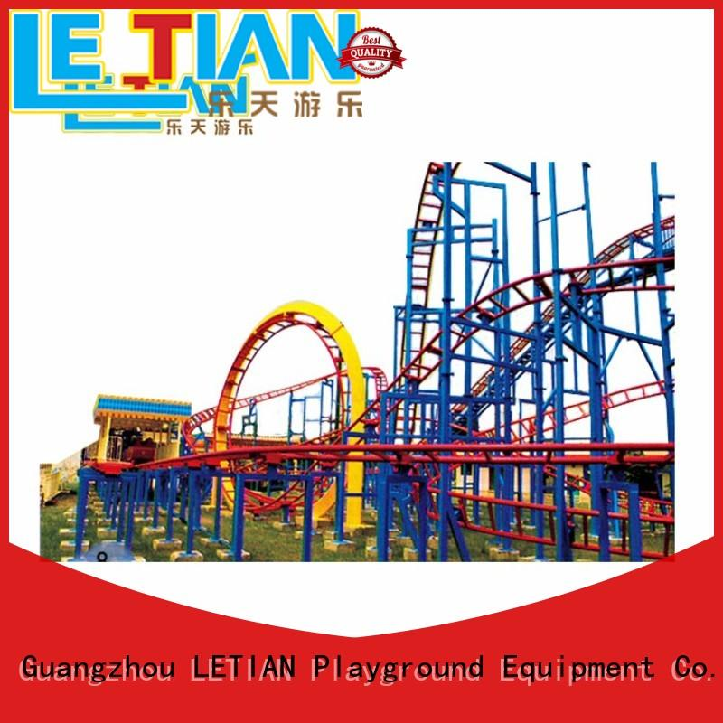 LETIAN rails crazy roller coaster attracts tourists mall