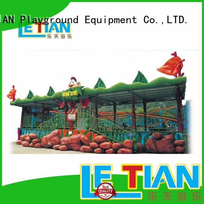 LETIAN unique roller coaster for children playground