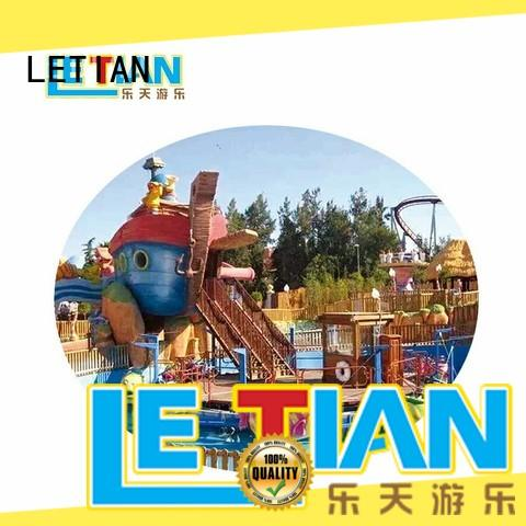 LETIAN unique new roller coaster for kids playground