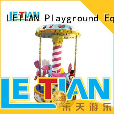 LETIAN 24 seats kids carousel supplier carnival