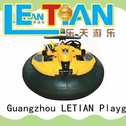 LETIAN battery bumper car racing for kids amusement park