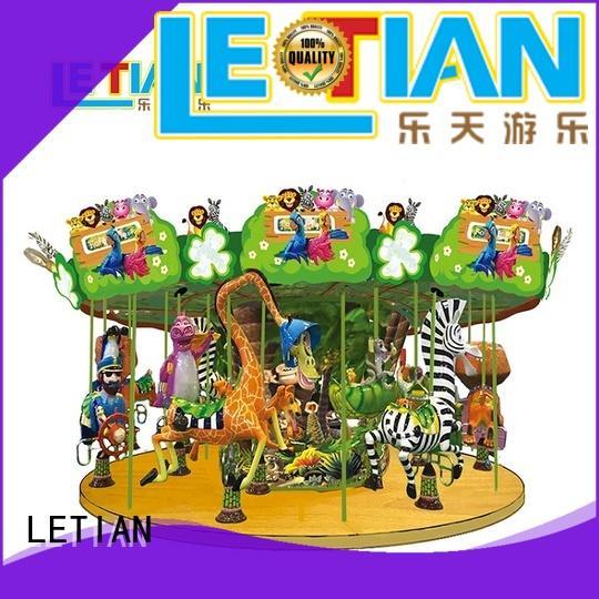 Madagascar 24 seats kids Merry go Round amusement park carousel horse ride LT-7036B