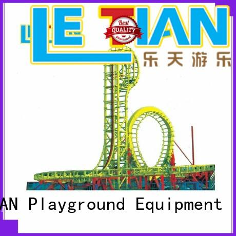 LETIAN safe scary roller coasters for student mall