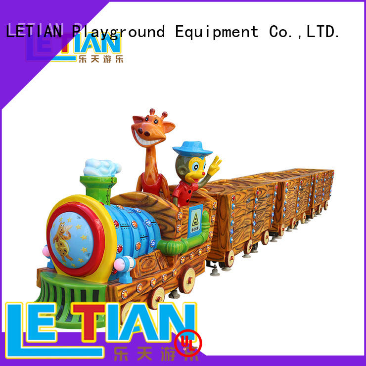 LETIAN lt7077c trackless train China park playground