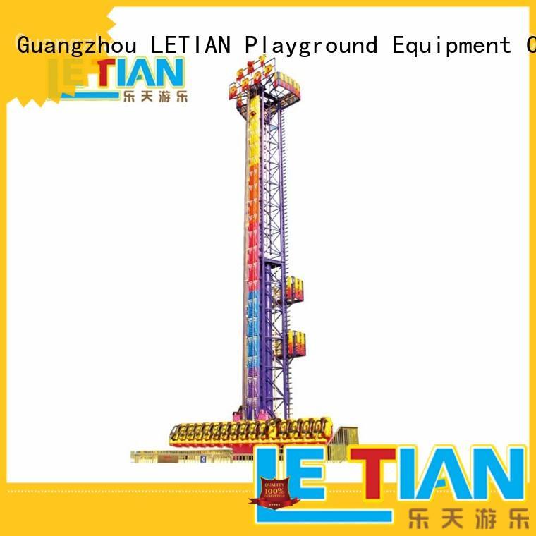glass park ride fiber theme park LETIAN