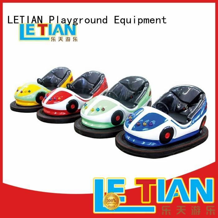 LETIAN electric kids bumper cars floor park