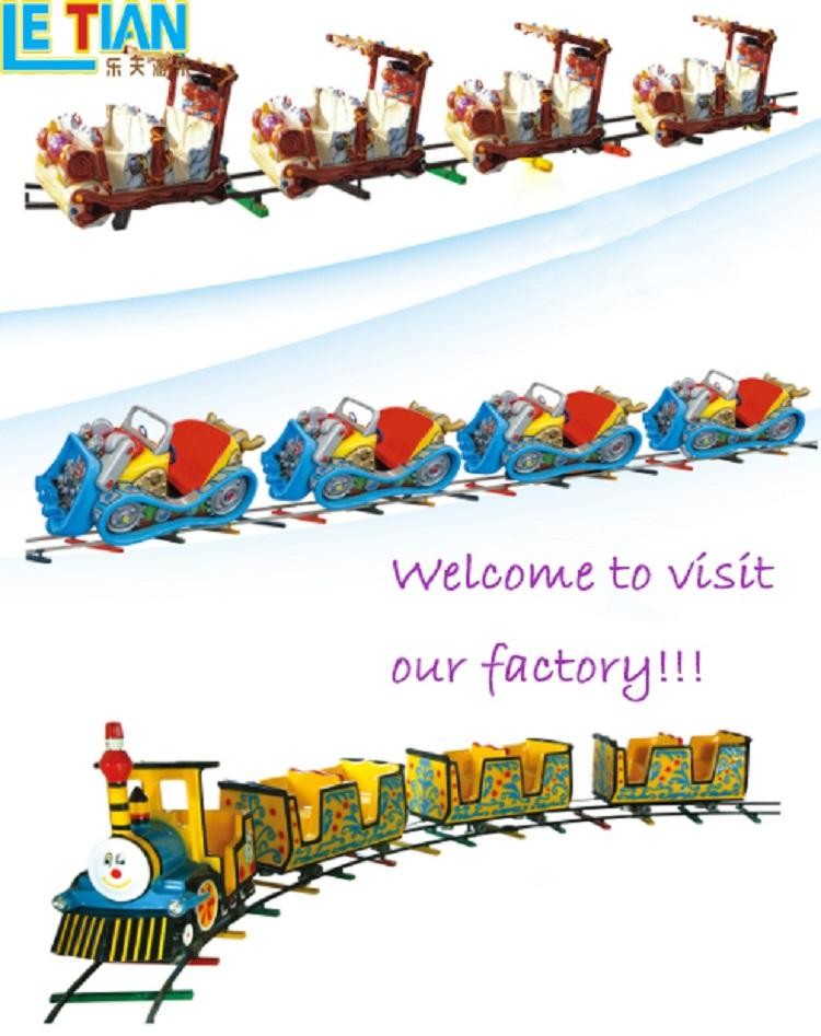 LETIAN ball amusement park train for business park playground-3