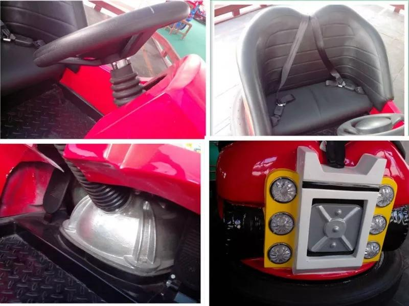 LETIAN Latest bumper car ride manufacturer amusement park-2
