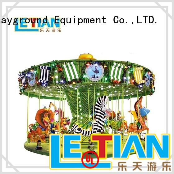 ocean carousel child operated theme park LETIAN