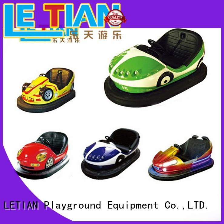 LETIAN electric kids bumper cars with antenna zoo