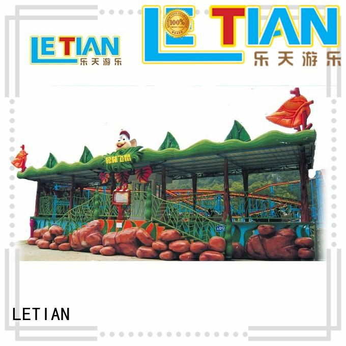LETIAN Factory made best roller coasters crazy playground