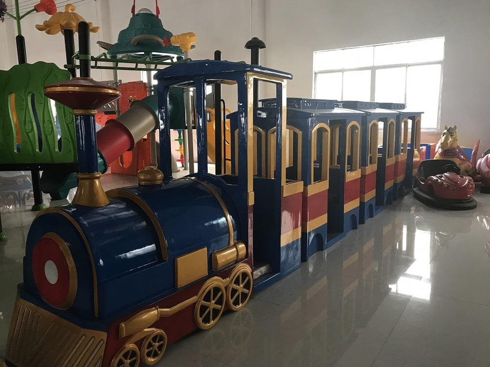 LETIAN jungle trackless train ride for business park playground-2