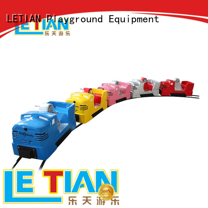 LETIAN orbit trackless train ride for kids children's palace
