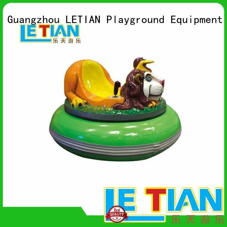 LETIAN Custom bumper car racing for kids amusement park