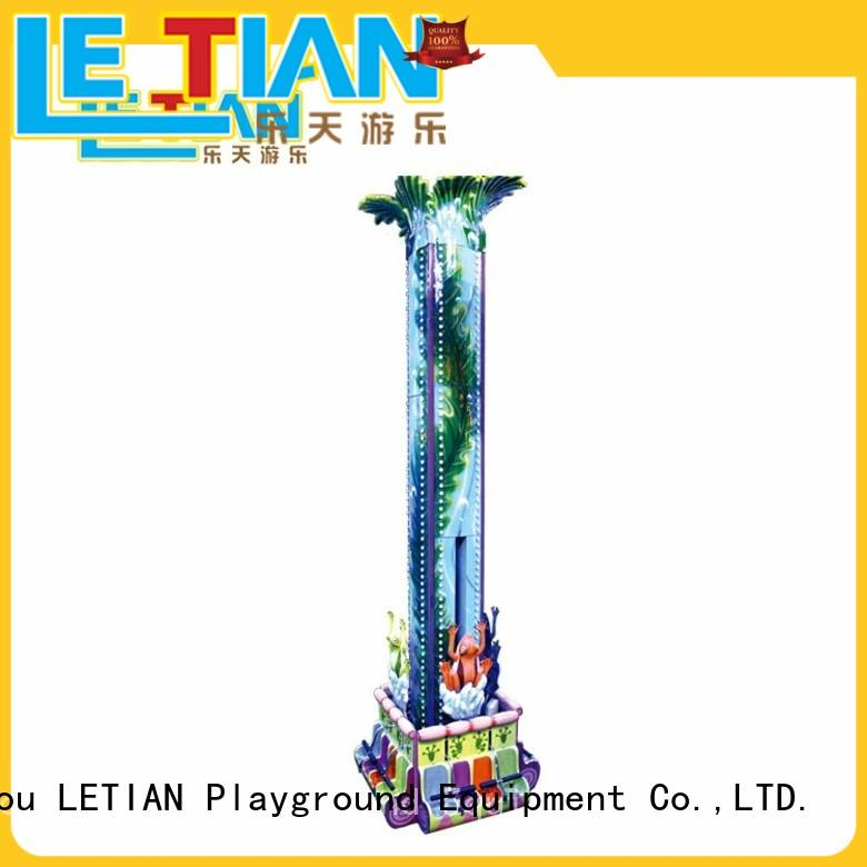 LETIAN High-quality sky drop manufacturers fairground