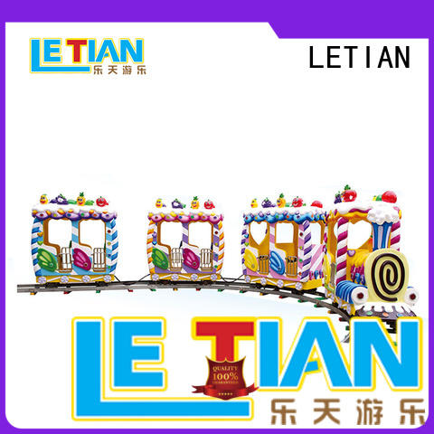 LETIAN mechanical trackless train China children's palace