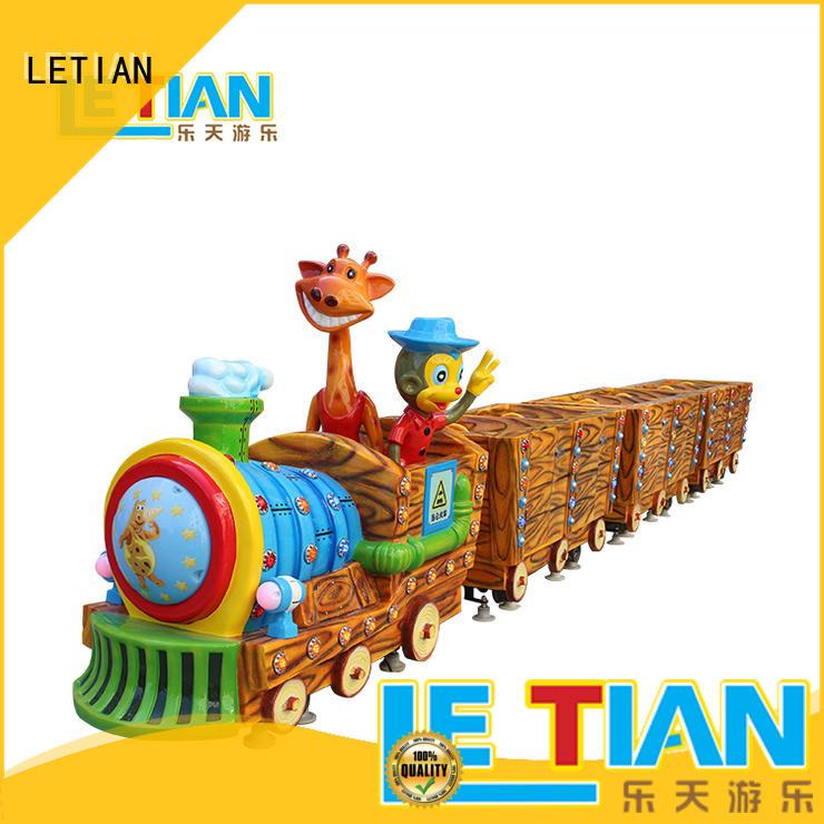 design trackless train ride magic mall LETIAN