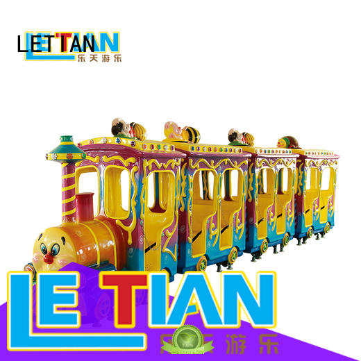 LETIAN mechanical theme park trains for sale manufacturer mall