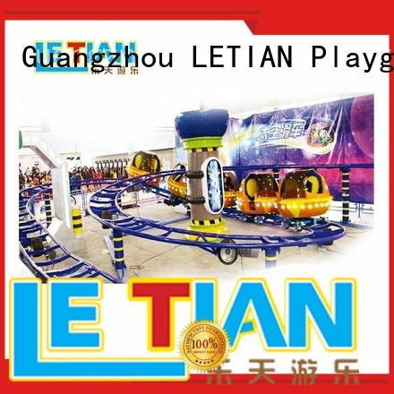 LETIAN amusement famous roller coasters for kids theme park