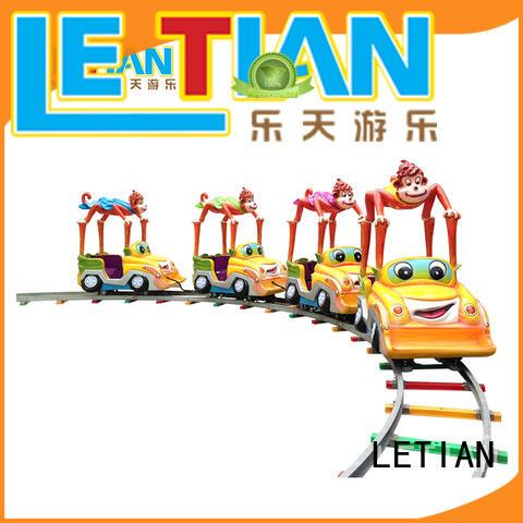 LETIAN lt7078b amusement train rides manufacturer park playground