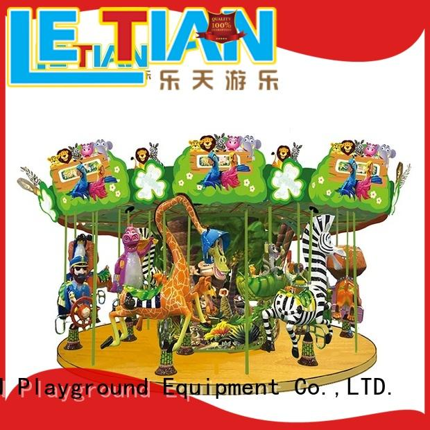 LETIAN colorful carousel for sale for business fairground