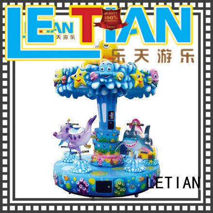 LETIAN ride carousel for kids design theme park